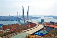 7.Владивосток вид на строящийся мост