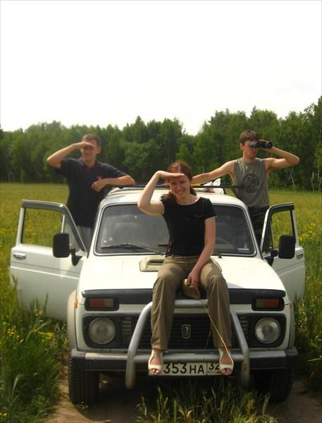 на фото: Три богатыря