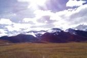 Горы возле Лхасы