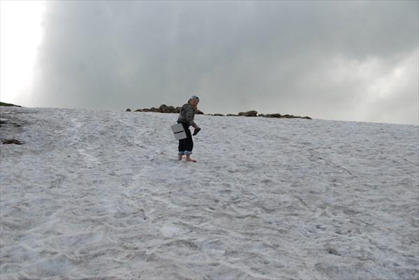 Босиком по снежнику
