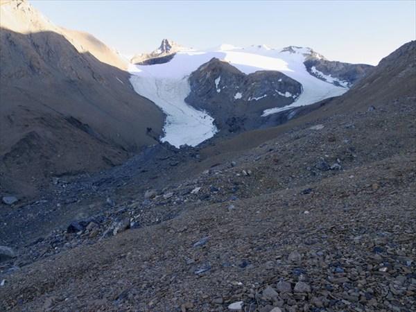 Ледники на ладакхской стороне