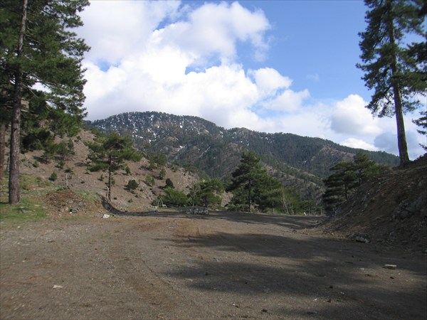 Перевал Чавуш 1234 м