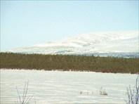 Рудник на склоне Ловозёрских тундр
