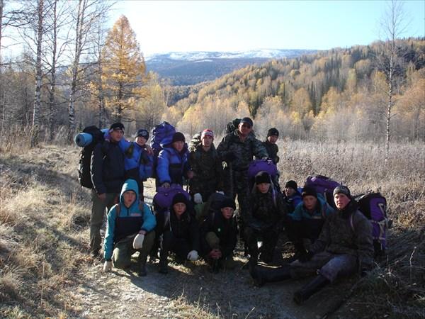 Группа в долине р. Тулата
