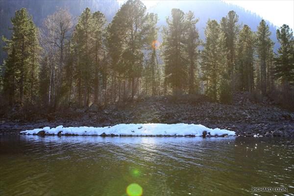 Телецкое озеро. Каменный залив.