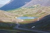 Перевал  Кукисвумчорр. Озеро Сердцевидное