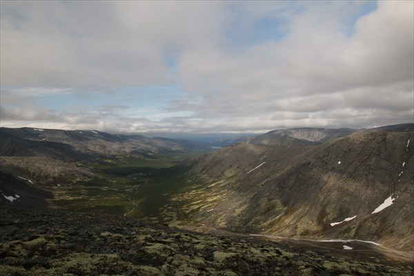 Вид на долину р. Петрелиуса