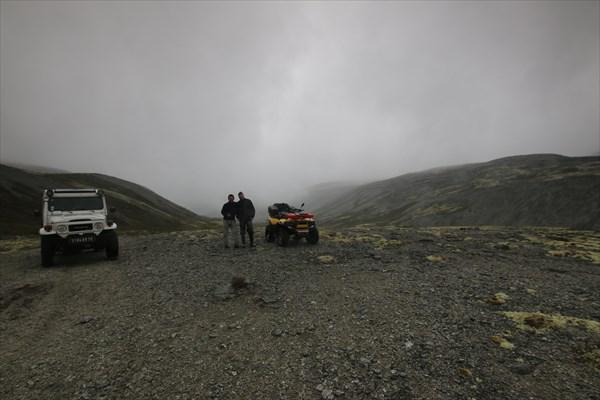 За Умбозерским перевалом все в тумане