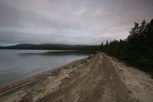 Панорама залива Умбозера (залив Тульилухт)