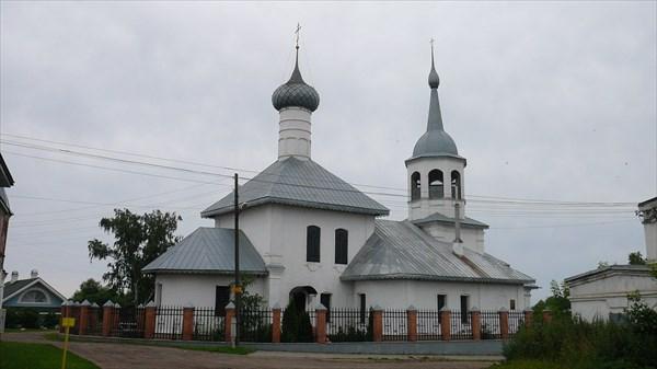 Церковь Николая Чудотворца на подозёрке