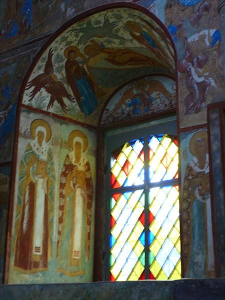 Роспись и фрески в церквях