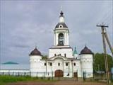 Никольская церковь с колокольней и башнями.