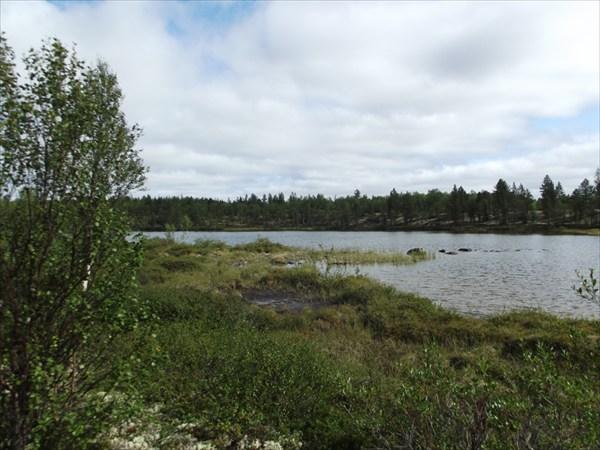 Озеро в верховье