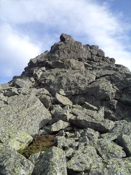 Одна из вершин Сукташа