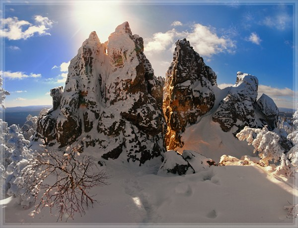Солнце-в-горах