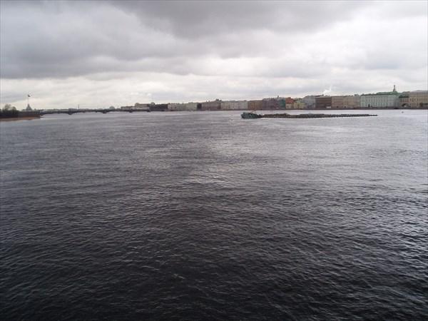 Вид с Биржевого моста
