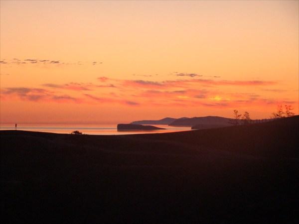 Закат. Малое море