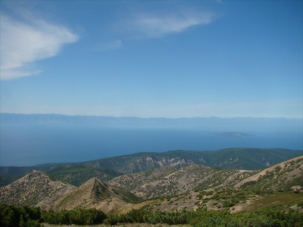 Вид с плато Святого Носа на Ушканьи о-ва