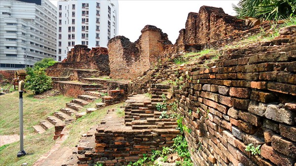 Стена в Чиангмай