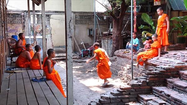 Саманеры (младшие монахи)