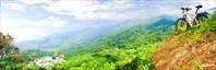 Панорама с горы Дой Сутхеп