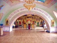 Троицкий храм внутри