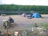 Наш последний лагерь.