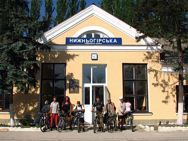 Начало маршрута - Нижнегорское