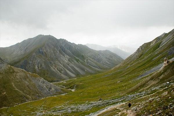 Подъём на перевал
