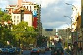 На вечерней улице Лиссабона
