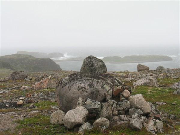 Вид на Баренцево море в окрестности Д. Зеленцов