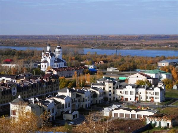Нижний город (Посад) Тобольска