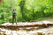 На подходе к водопаду `Серебряные струны`