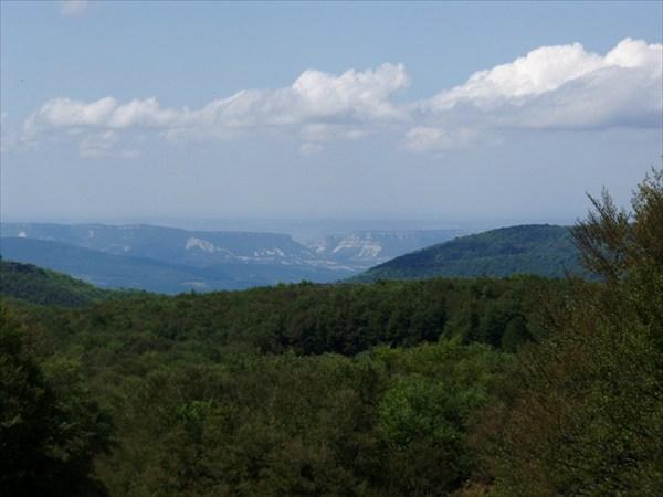 на фото: Вид с Лысой горы