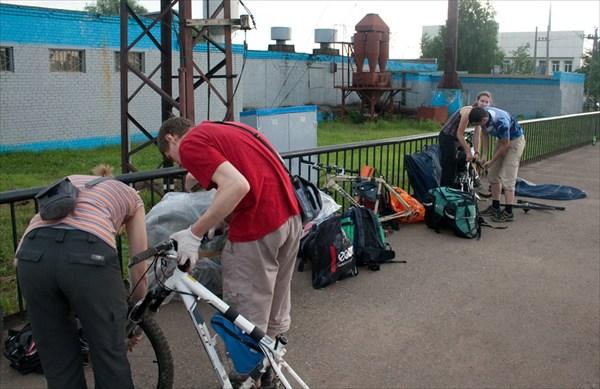 сбор великов в Ростове