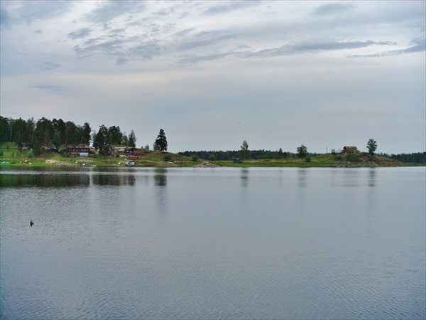 Аргазинское водохранилище.