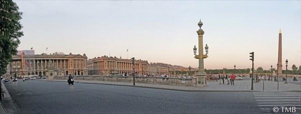 Площадь Согласия. Май 2011
