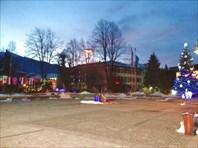 Городская площадь готова чествованию горнолыжных чемпионов