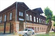 Старинное здание в Екатеринбурге