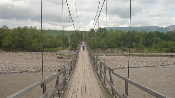 Мост через реку Уруп