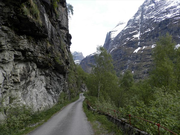 Дорога к ледникам