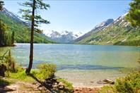 Утренняя гдадь озера