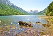 Западный берег Среднего озера