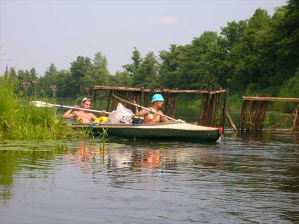 15 июля 2006г. Река Лух. Мугреевские заколы.