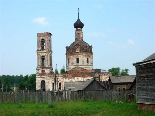 15 июля 2006г. Река Лух. Мугреево-Никольское.