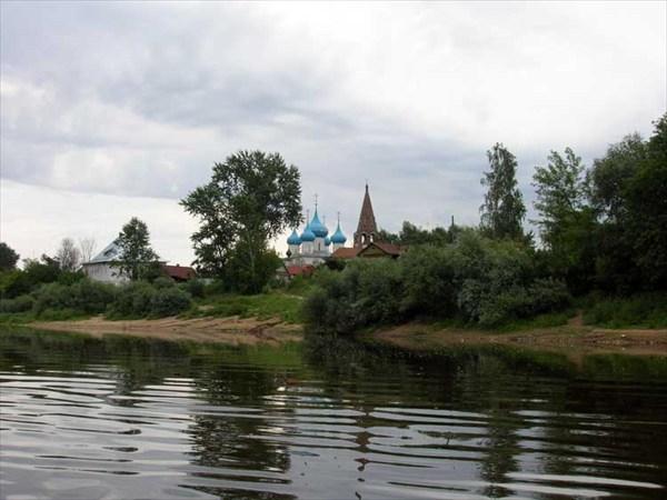 23 июля 2006г. Река Клязьма. Вот он, Гороховец.