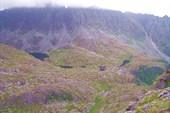 Вид с перевала Авиаторов на долину, откуда мы поднялись
