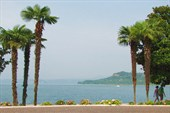 Озеро Гарда. Вид с набережной одноименного городка
