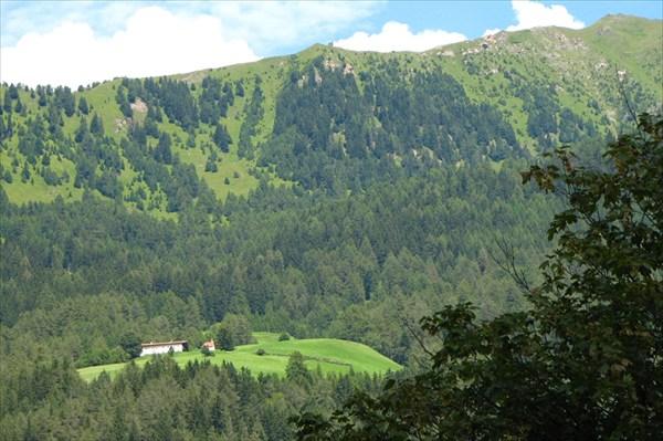 В Альпах все занято и застроено