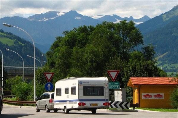 Выезд в Австрию